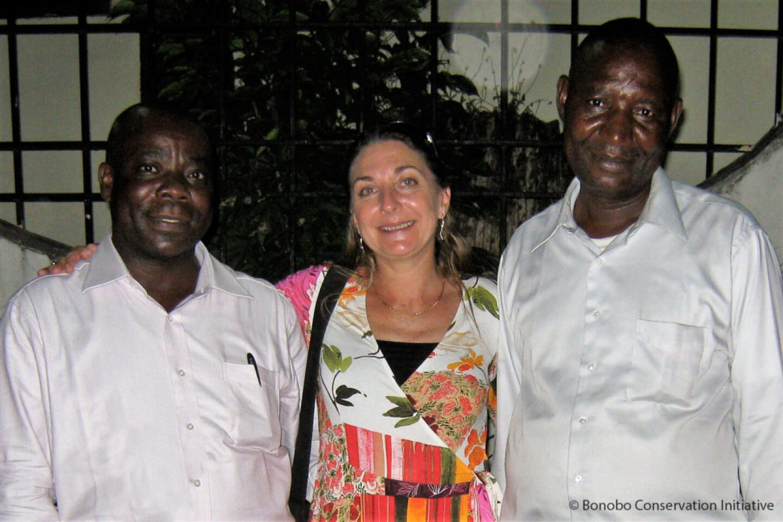 Albert Lokasola, Sally Coxe, and Mwanza Ndunda